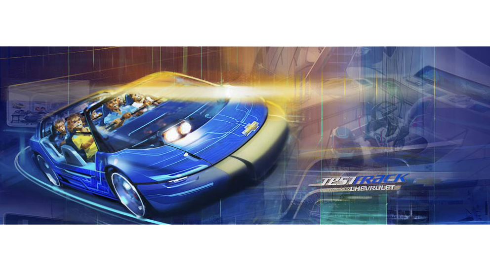 Disney Teams Up with Chevrolet for a New Concept at the Test Track