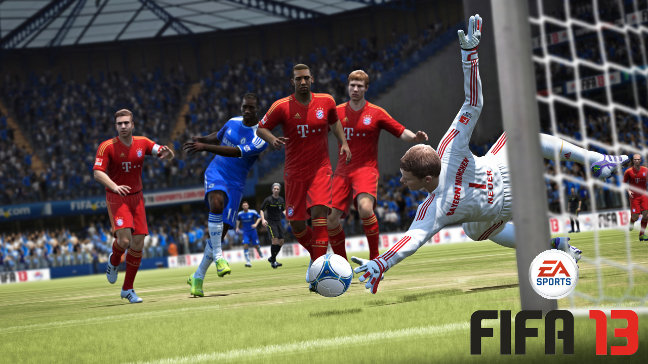 <i>FIFA 13</i> Takes Beauty and Mixes it with Brains