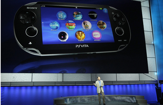 Sony's Post-Valentine's Day Present: Vita Due out February 22nd 2012