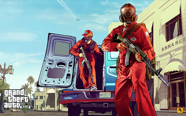 Rockstar Gives Us Artwork of <i>GTA V</i> Until Huge Reveal Next Week
