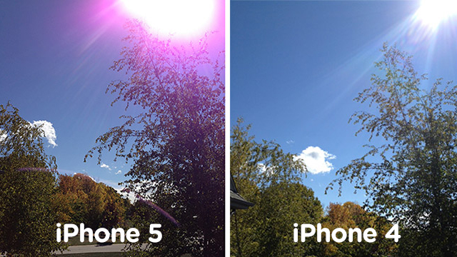 iPhone 5's Purple Flares Found by Apple to be Completely Normal