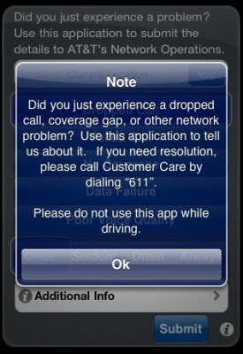 AT&T's New iPhone App Lets You Report When You Lose Signal