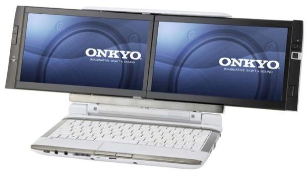 Onkyo's DX  > Kohjinsha's DZ Notebooks