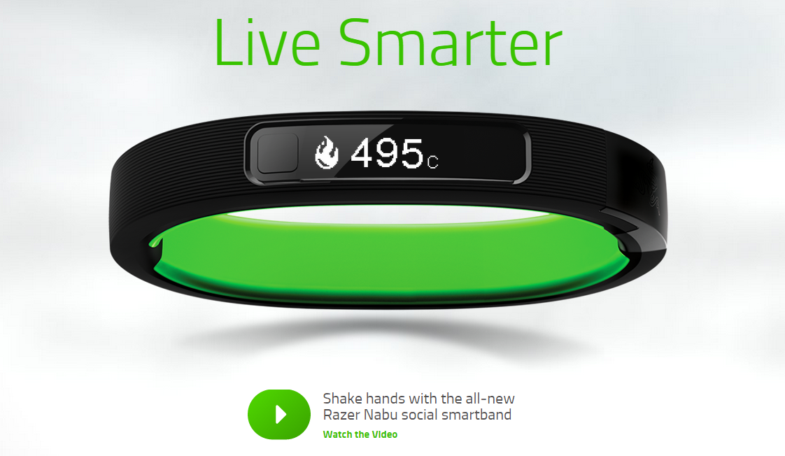 Razer Launches the Nabu Smartband For Just $100