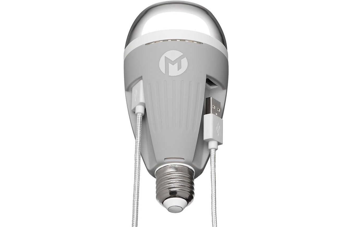 PowerBulb USB Charging LED Light Bulb