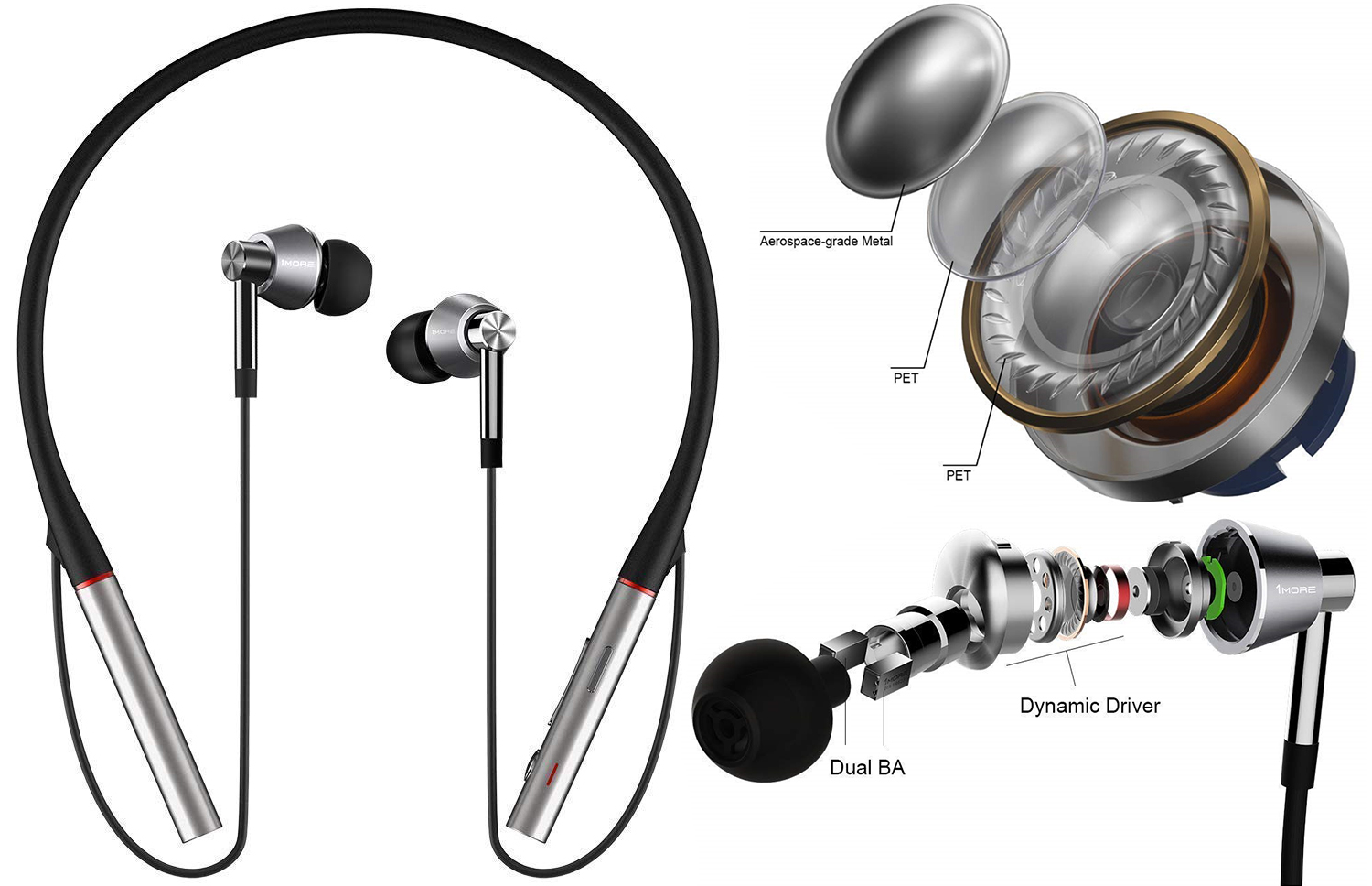Triple Driver Bluetooth In-Ear Headphones