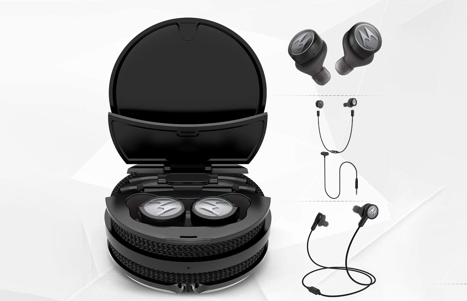Tech3 3-in-1 Smart True Wireless Headphones