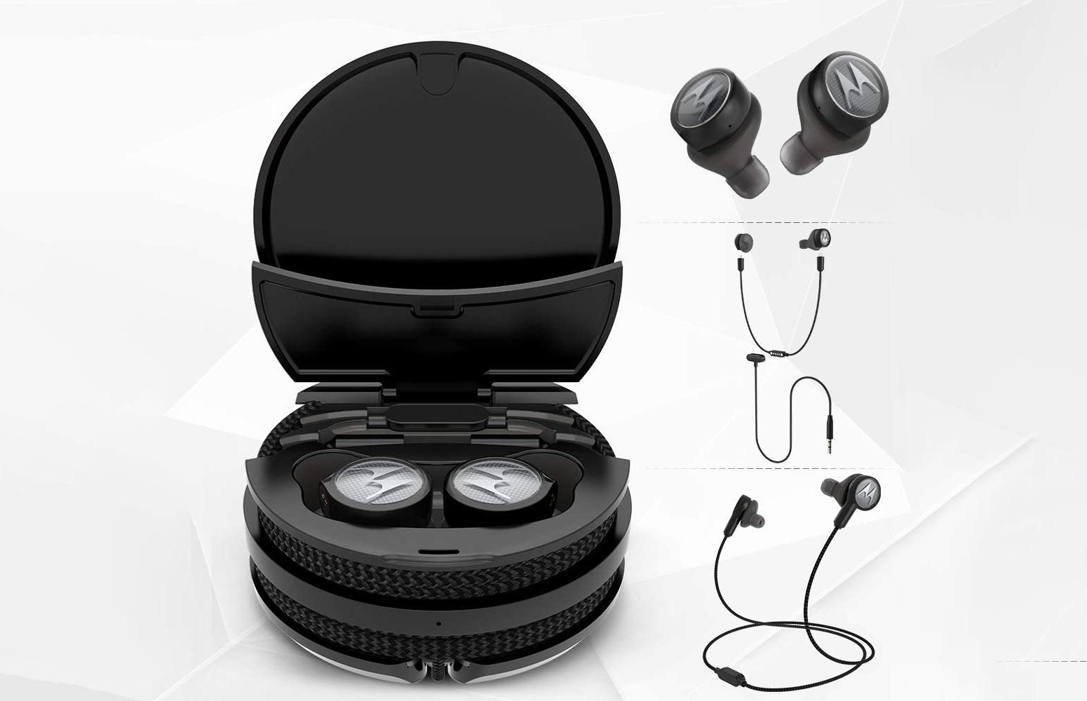 Tech3 3-in-1 Smart True Wireless Headphones